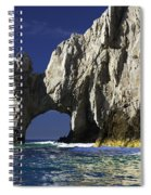 The Arch Cabo San Lucas Spiral Notebook