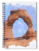 The Arch Spiral Notebook