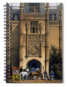 The Arch, Montacute House, Somerset Spiral Notebook