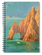 The Arch Of Cabo San Lucas 2 Spiral Notebook