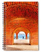 The Arches Spiral Notebook