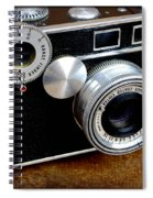 The Argus C3 Lunchbox Camera Spiral Notebook