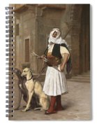 The Arnaut With Two Whippets Spiral Notebook