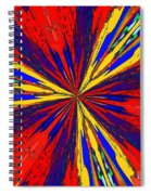 The Arrival Of Colours Spiral Notebook
