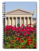 The Art Museum In Summer Spiral Notebook