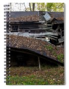 The Art Of Decay Spiral Notebook