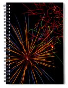 The Art Of Fireworks  Spiral Notebook