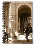 The Art Of Love Italian Style Spiral Notebook