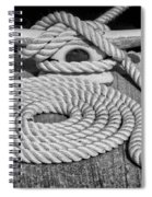 The Art Of Rope Lying Spiral Notebook