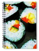 The Art Of Sushi Spiral Notebook