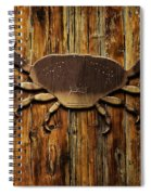The Art Of The Crab Spiral Notebook