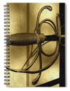 The Art Of The Sword Spiral Notebook