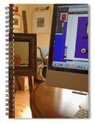 The Artist In His Studio Spiral Notebook
