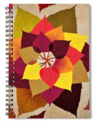The Artistry Of Fall Spiral Notebook