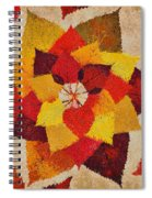 The Artistry Of Fall Klimt Homage Spiral Notebook