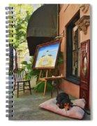 The Artist's Dog Spiral Notebook