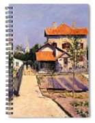 The Artists House At Yerres Spiral Notebook