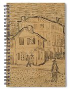 The Artists House In Arles Spiral Notebook
