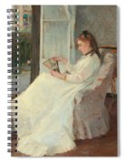 The Artist's Sister At A Window Spiral Notebook