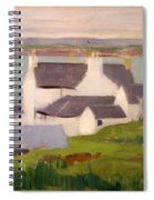 The Artists Studio Iona Spiral Notebook