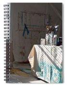 The Artists Studio Spiral Notebook