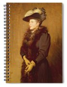 The Artists Wife, 1893 Spiral Notebook