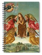The Ascension Of Saint Mary Magdalene Spiral Notebook