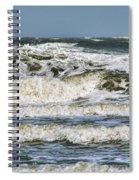 The Atlantic Ocean At Sullivan's Island Spiral Notebook
