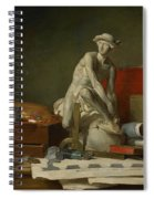 The Attributes Of The Arts And The Rewards Which Are Accorded Them Spiral Notebook