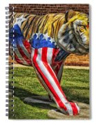 The Auburn Tiger Spiral Notebook