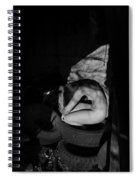 The Auspicious Squalor Of The Human Butterfly Spiral Notebook