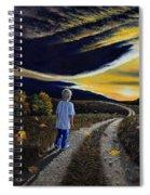 The Autumn Breeze Spiral Notebook