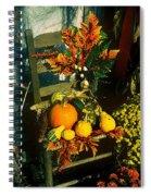 The Autumn Chair Spiral Notebook