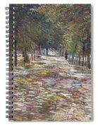 The Avenue At The Park Spiral Notebook