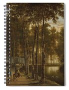 The Avenue Of Birches Spiral Notebook