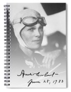 The Aviatrix Spiral Notebook