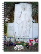 The Babe's Resting Place Spiral Notebook