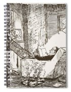 The Bachelor, Illustration From Pont An Spiral Notebook