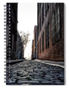 The Back Alley Spiral Notebook