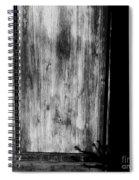 The Back Door Bw Spiral Notebook