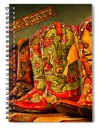 The Back Forty Boots Are Made For Dancin' Spiral Notebook