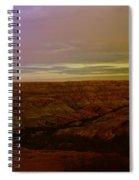 The Badlands Spiral Notebook