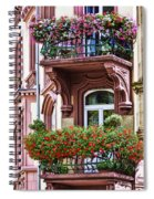 The Balcony Flowers Spiral Notebook