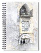 The Balcony Scene II Spiral Notebook
