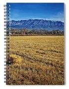 The Bale - Sandia Mountains - Albuquerque Spiral Notebook