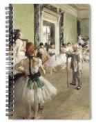 The Ballet Class Spiral Notebook