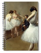 The Ballet Lesson Spiral Notebook