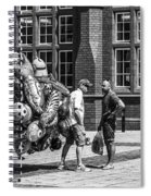 The Balloon Seller Mono Spiral Notebook