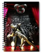 The Ballroom Dancers Spiral Notebook