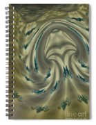 The Banded Chicken Spiral Notebook